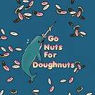 Go Nuts For Doughnuts iphone Case by Lorren Francis