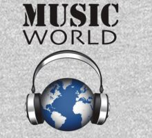 MUSIC WORLD Kids Tee