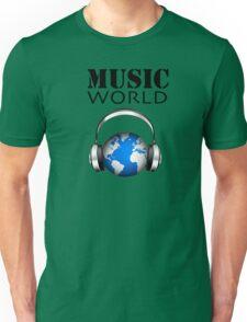 MUSIC WORLD Unisex T-Shirt