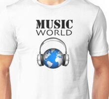MUSIC WORLD Unisex T-Shirt