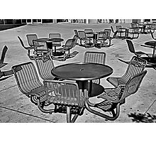 Seating Available Photographic Print