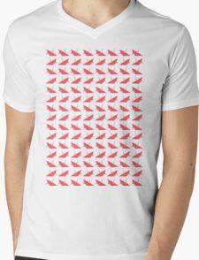 Paper Cranes Mens V-Neck T-Shirt