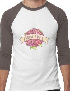 Anime Trash Men's Baseball ¾ T-Shirt