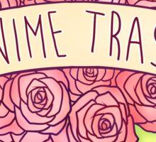 Anime Trash Sticker