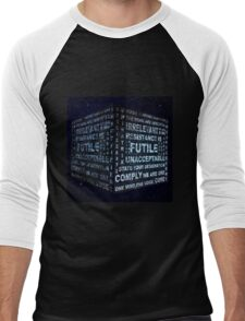 Borg Cube Men's Baseball ¾ T-Shirt