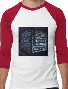 Borg Cube Men's Baseball ¾ T-Shirt