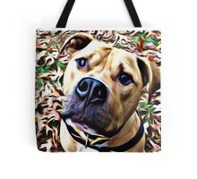 Pit Bull Rescue Beauty (1) Tote Bag