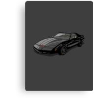 Knight Rider KITT Car Canvas Print