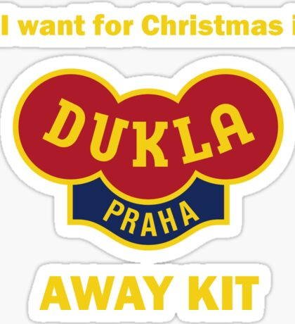 Dukla Prague Away Kit Sticker