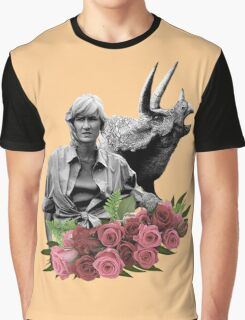 Ellie // Triceratops - Woman Inherits The Earth Graphic T-Shirt