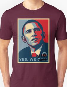 Obama. Yes we did. T-Shirt
