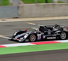Signatech Nissan No 23 by Willie Jackson