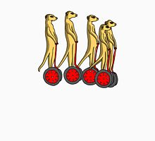 Meerkat on Segway in Color Unisex T-Shirt