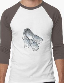 battlefield dogtags Men's Baseball ¾ T-Shirt