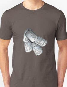 battlefield dogtags Unisex T-Shirt