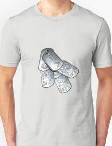battlefield dogtags T-Shirt