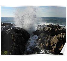 Spouting Rock - Kennebunkport, ME Poster