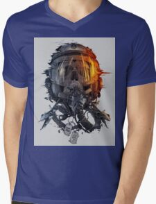 battlefield death pilot Mens V-Neck T-Shirt