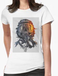 battlefield death pilot Womens Fitted T-Shirt
