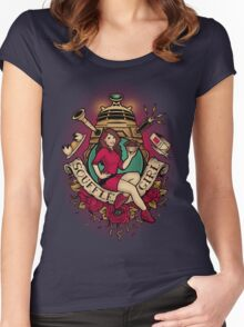 Souffle' Girl Women's Fitted Scoop T-Shirt