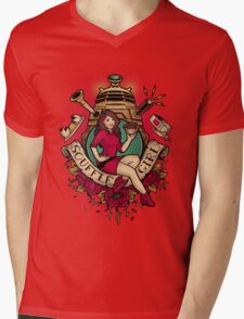 Souffle' Girl Mens V-Neck T-Shirt