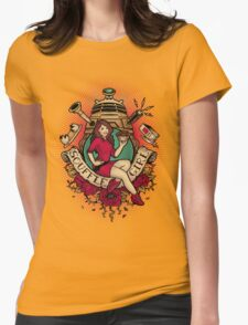 Souffle' Girl Womens Fitted T-Shirt