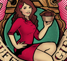 Souffle' Girl Sticker