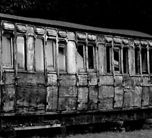 Old, forgotten carriage  by k-s-photography