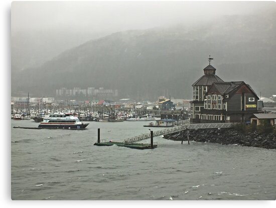 The Storm ~ Whittier, Alaska by Lucinda Walter