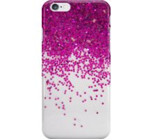 Fun I (NOT REAL GLITTER - photo) iPhone Case/Skin