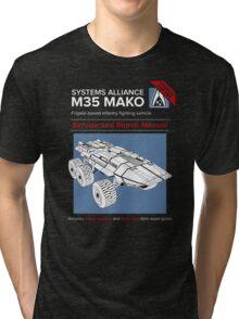 Mako Guide Tri-blend T-Shirt
