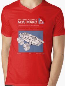 Mako Guide Mens V-Neck T-Shirt