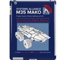 Mako Guide iPad Case/Skin