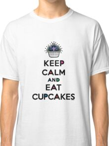 Keep Calm and Eat Cupcakes 6 Classic T-Shirt