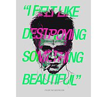 Tyler the Destroyer Photographic Print