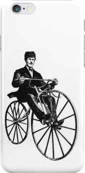 Penny Farthing phone by Vana Shipton