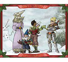 Solstice Carols! Photographic Print