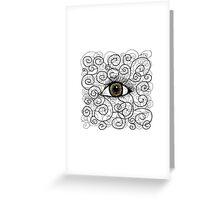Eyes open Greeting Card