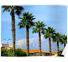 The Palm Trees Of Antibes Poster
