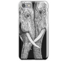 Les  Éléphants iPhone Case/Skin