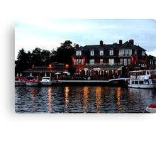 Wherry, Oulton Broad, Suffolk Canvas Print