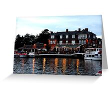 Wherry, Oulton Broad, Suffolk Greeting Card