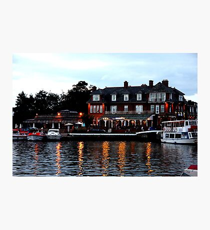 Wherry, Oulton Broad, Suffolk Photographic Print