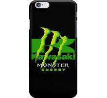 Kawasaki Racing Monster Energy Team iPhone Case/Skin
