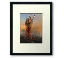 Gates of Hell Framed Print