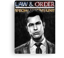 Nick Amaro from Law and Order svu Canvas Print