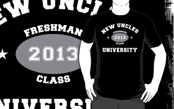 New Uncle 2013 Dark by FamilyT-Shirts