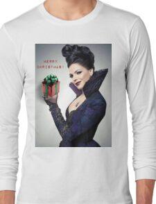 Evil Queen (Christmas) Long Sleeve T-Shirt