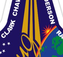 STS-107 Mission Logo Sticker