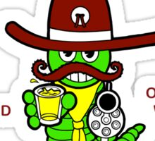 """Cinco de Mayo """"Cinco de Mayo Drinking Team Designated Drunk"""" Sticker"""